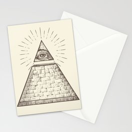 iLLuminati Stationery Cards