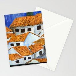 Mountain village, Peru Stationery Cards