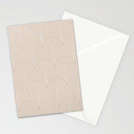Art Deco Arch Pattern XIV Stationery Cards