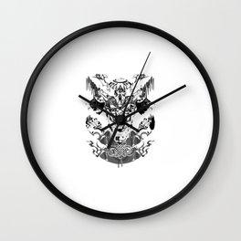 Kabuto Wall Clock