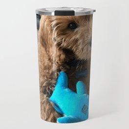 Barkley With Shark Toy Travel Mug