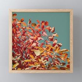 October Breeze Framed Mini Art Print