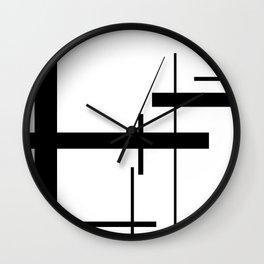 Linear Edge Wall Clock