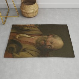 Ary de Vois - A Man with a little drink Bottle Rug