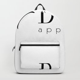 Bon Appetit – Quote Backpack