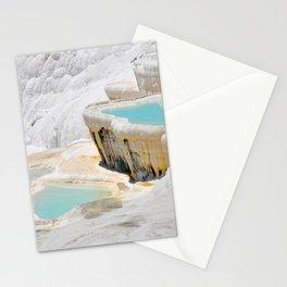 pamukkale turkey Stationery Cards