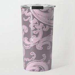 Retro Chic Swirl Ballet Slipper Travel Mug