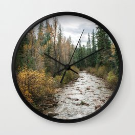 Autumn in Colorado Wall Clock
