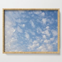 Cotton Clouds Serving Tray
