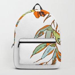 Orange Gumnuts Backpack