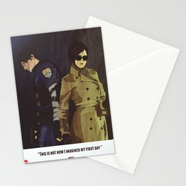 Leon A - Resident Evil 2 Stationery Cards