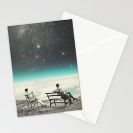 You Were There, in my Deepest Silence Stationery Cards