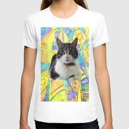 Zoe In Feline Seafare Delight T-shirt
