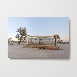 Airstream, Joshua Tree Acres 4 Metal Print