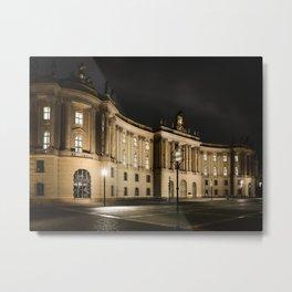 Humboldt Berlin Metal Print