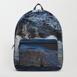 Rocks at Mississippi Headwaters Backpack