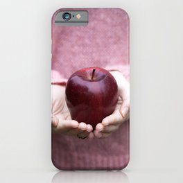 Forbidden Fruit iPhone Case