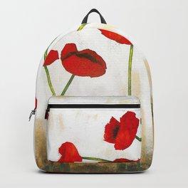 Skyline Poppies Backpack