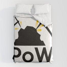 PoW - Proof of Work Comforters