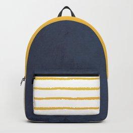 Navy stripes Backpack