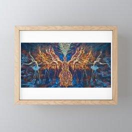 Burn In Framed Mini Art Print