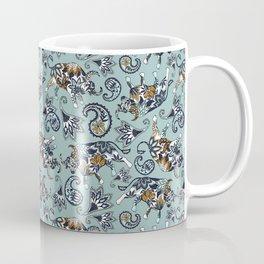 Ox Paisley (Blue-Grey Palette) Coffee Mug