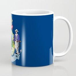 Maine State Flag Coffee Mug