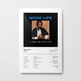 Drake Poster - More Life Album Cover Poster Print - Drake Poster Print, Wall Art Metal Print