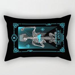 The Gamer X Tarot Card Rectangular Pillow