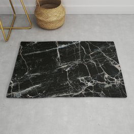 Black Marble Edition 1 Rug