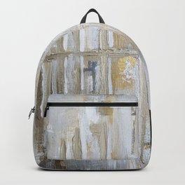 Metallic Abstract Backpack