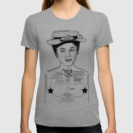 Mary Poppins Cor Blimey Ink'd Series T-shirt