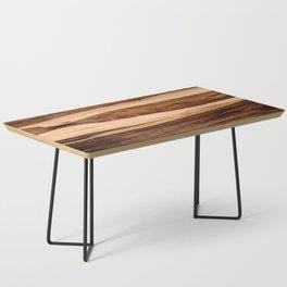 Sheesham Wood Grain Texture, Close Up Coffee Table