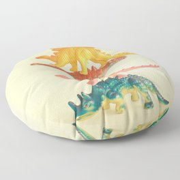 Dinosaur Antics Floor Pillow