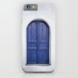 Door in Greece iPhone Case