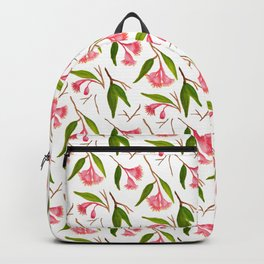 Red Gumnut Pattern Backpack