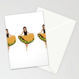 Taco Dress Stationery Cards
