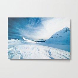 Mountain ice 2 Metal Print