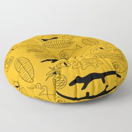 Crocodile Dream Floor Pillow