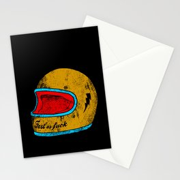 fast as fuck Stationery Cards