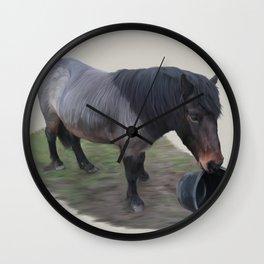 Alfie - Dartmoor Pony Wall Clock