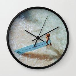 lets surf li Wall Clock