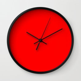 Scarlet Wall Clock