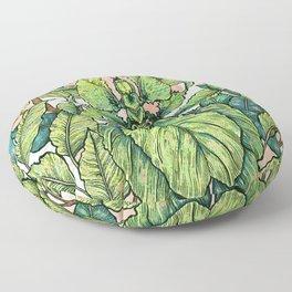 Leaf Mimic Floor Pillow