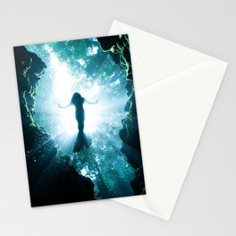 The Neverland Mermaid Stationery Cards