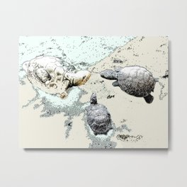 Turtle Caucus Metal Print