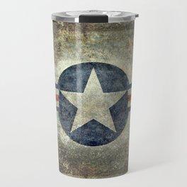 US Air force style insignia V2 Travel Mug