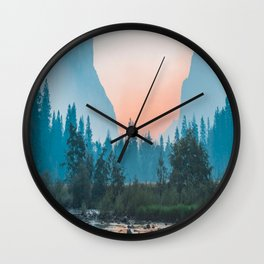 Landscape-Mountain-Photography Wall Clock