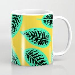 Dieffenbachia tropical leaf pattern Coffee Mug