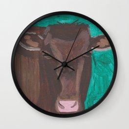 A Heifer Named Sugar Wall Clock
